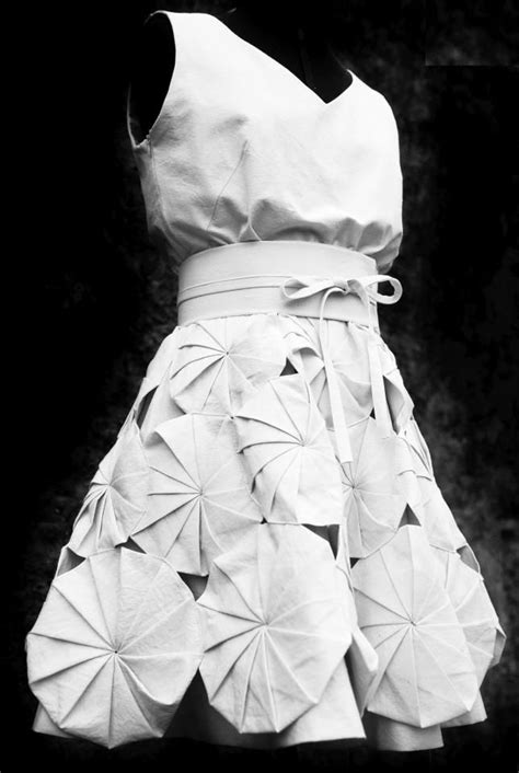 Origami In Fashion - best 25 origami dress ideas on bridal shower