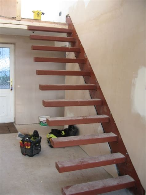 stairs without banister floating staircase brackets immaculate wooden floating staircase without handrail only