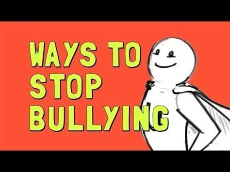 Ways To End A Fight 2 by Wellcast Ways To Stop Bullying