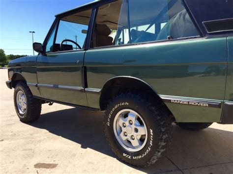 range rover classic green land rover range rover 2 door 1980 green for sale