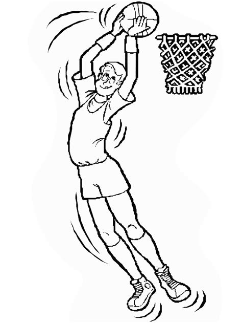 Basketball Coloring Pages Coloringpages1001 Com Basketball Coloring Pages