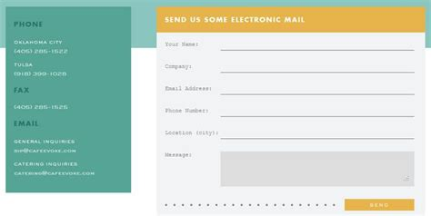 design email form 20 highly creative contact form designs for inspiration