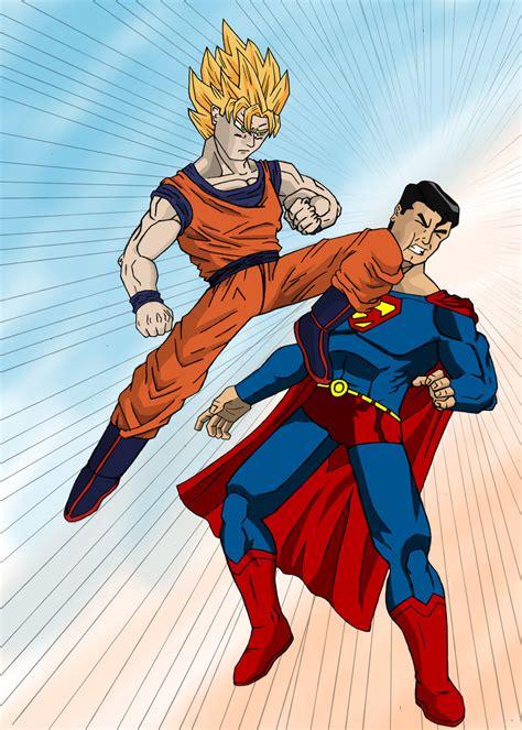 imagenes goku vs superman goku vs superman 49 marbal