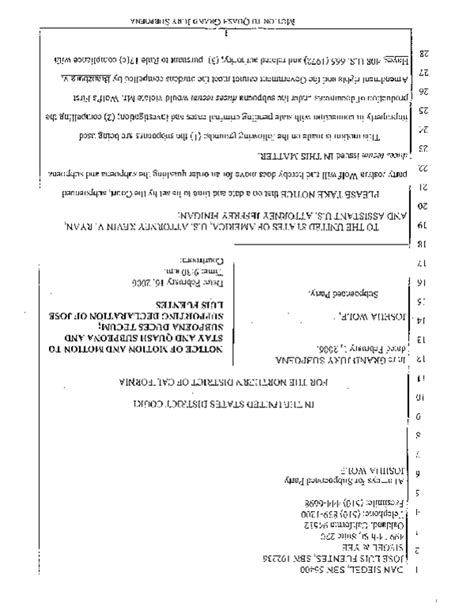 Motion To Quash Search Warrant Sle Best Photos Of Quash A Warrant Motion Quash Warrant