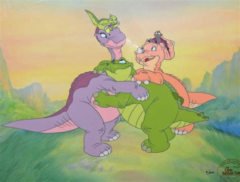 a before time the land before time animation sensations