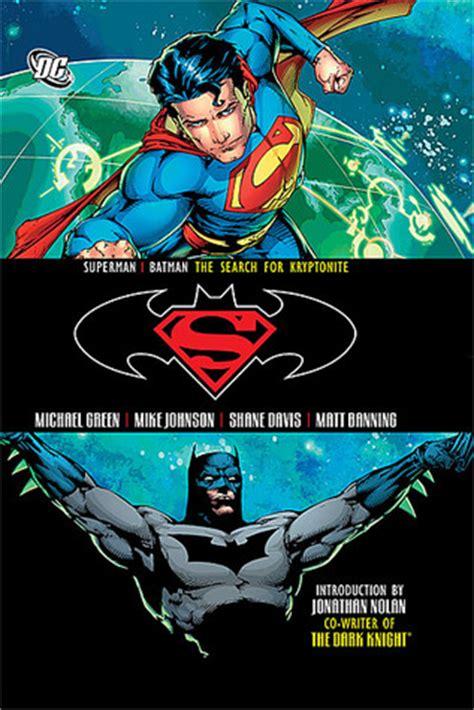 batman vol 7 superman batman vol 7 the search for kryptonite by michael green reviews discussion
