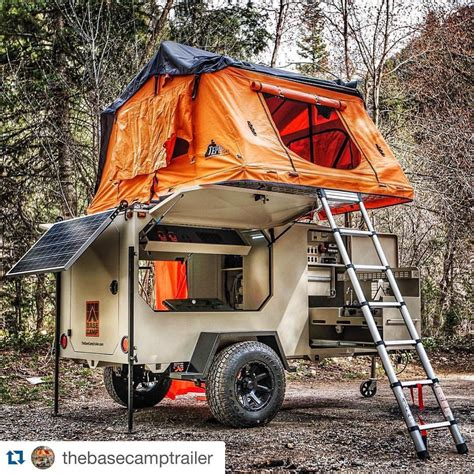 sweety trailer sweet trailer setup by base c trailers instagram