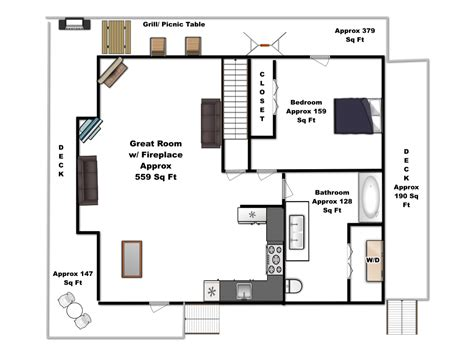 main level floor plans bear tracks main floor plan