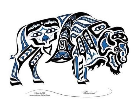 tribal buffalo tattoos 4192 best american images on
