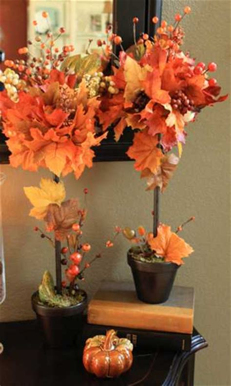 fall leaves decorations creative fall crafts autumn leaves tree for thanksgiving