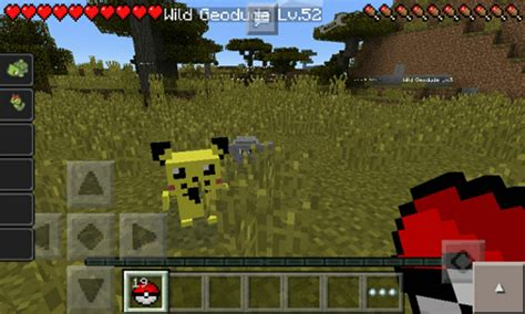 mod in minecraft pe minecraft pe pokemon mod called quot pokedroid pe huge