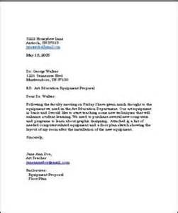 Business Letter Template No Address A Business Letter About Purchasing New Equipment