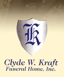 our staff funeral homes clyde kraft funeral home