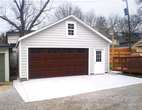 Garage Tuff by Customized Overhangs Make This Garage A One Of A