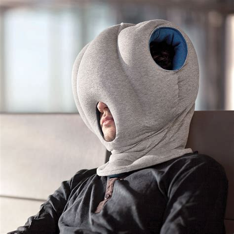 Google Sleep Pods by The Power Nap Head Pillow Hammacher Schlemmer
