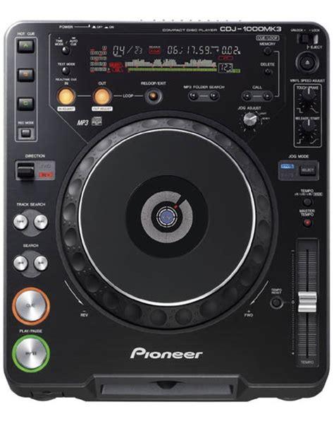 console cdj dj shoppee pioneer cd player console cdj 1000s mk 3