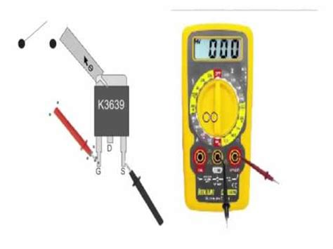 como testar transistor mosfet na placa mae teste de transistor do tipo mosfet mult 237 metro digital doovi