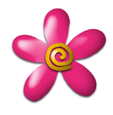 imagenes de flores animadas infantiles im 225 genes infantiles flor fucsia y amarilla