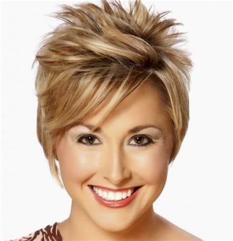 short spiky haircuts for round face women womens short 14 best short haircuts for women with round faces