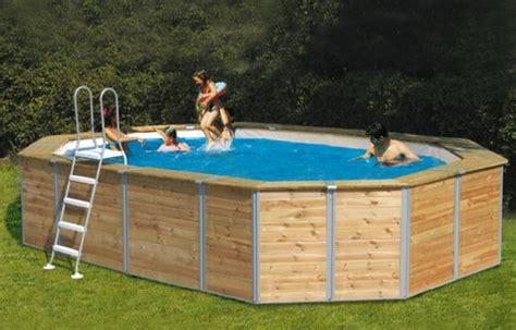 piscine fuori terra rivestite in legno i pro e i contro delle piscine fuori terra