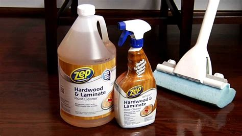 Zep Commercial Hardwood & Laminate Floor Cleaner   YouTube