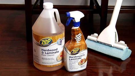 Zep Commercial Hardwood & Laminate Floor Cleaner   YouTube