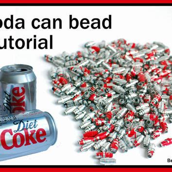 bead diet upcycled soda can bead tutorial instant from beadnutters