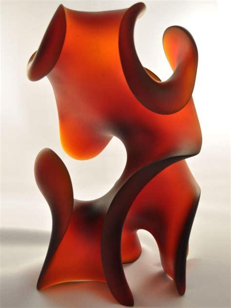 Mystic Light by Mystic Light Abstract Pollitt Glass Sculpture