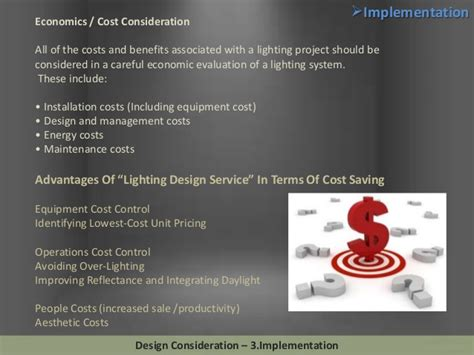 design consideration definition lighting design considerations