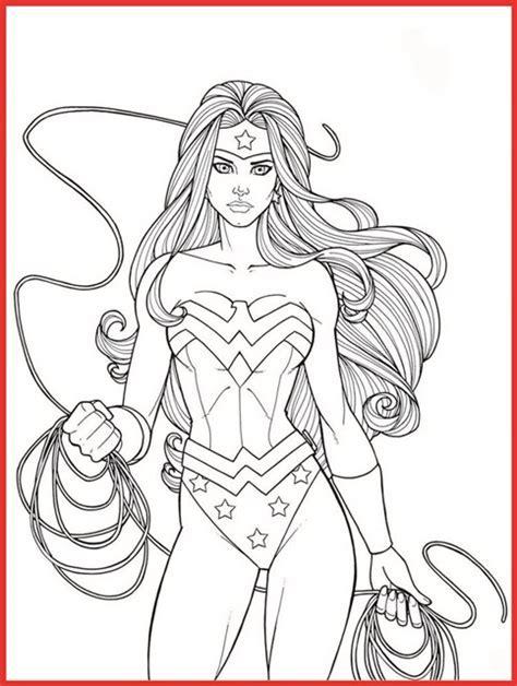 Weibliche Superhelden Ausmalbilder Gratis   Rooms Project