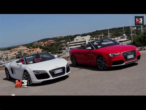 Audi Rs8 Cabrio by Audi Rs8 Spyder Vs Audi Rs5 Cabriolet Test Drive Costa