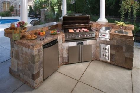 Prefabricated Outdoor Kitchen Islands Outdoor Kitchen And Bbq Island Kits Oxbox For Prefab