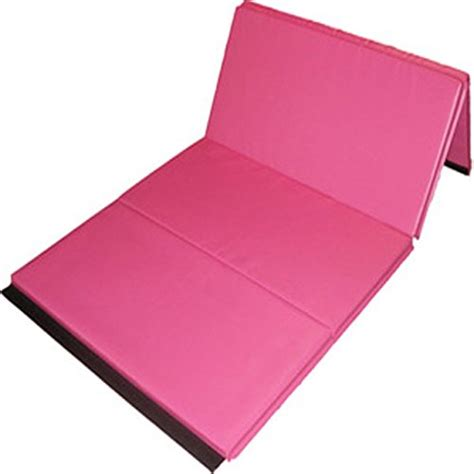 Pink Gymnastic Mats by New Large 4x8x2 Pu Leather Thick Foam Folding Panel Gymnastic Mat Tumbling Fitness Exercise