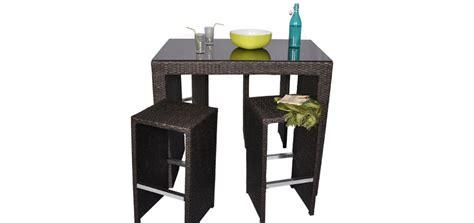 table de terrasse pas cher table bar de jardin pas cher