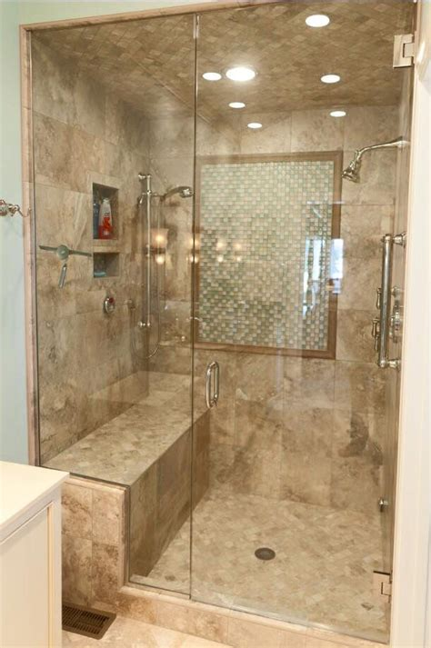 tile shower bench ideas check out this lovely tile shower we did it has a nice