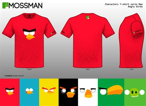Tshirt Angry Brids 2 characters t shirt serie angry birds by mrmossman on deviantart