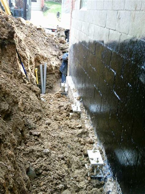 Foundation Repair   Sinking Garage in New Brighton, PA