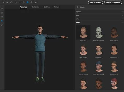 create 3d photos create 3d models characters adobe fuse cc beta