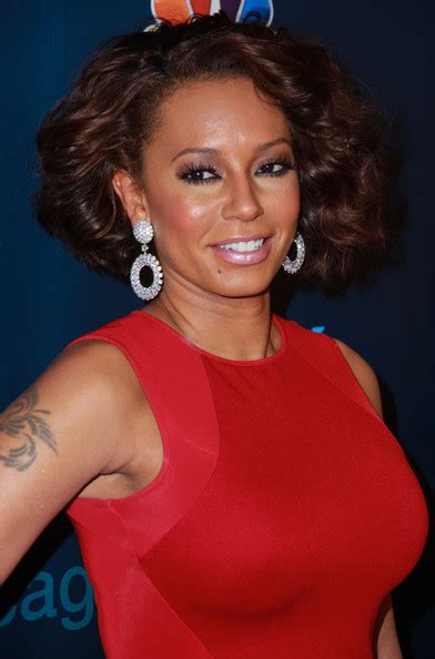 mel b hairstyles melanie brown short curls melanie brown looks stylebistro