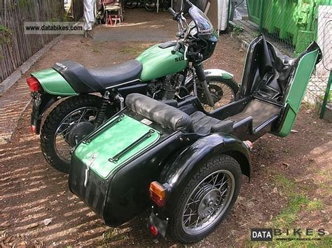 Sidecar Suzuki Motorcycle 1977 Suzuki Gs400