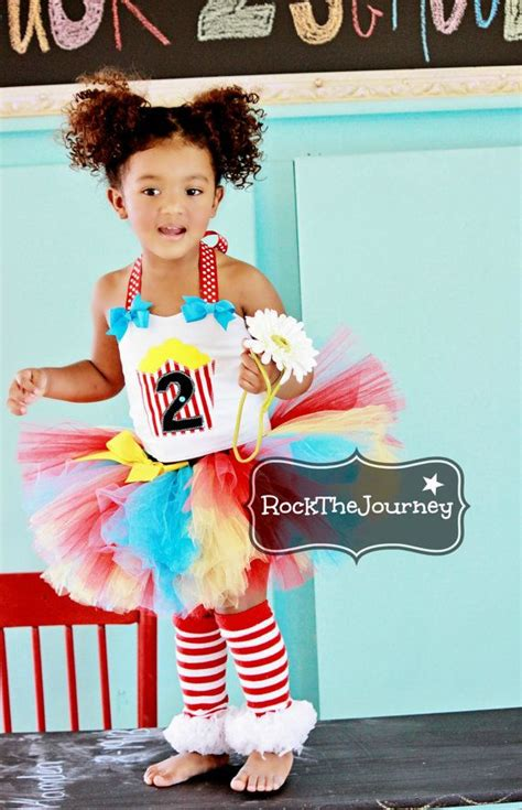 circus themed birthday outfit popcorn circus birthday party tutu outfit carnival clown