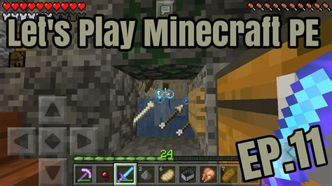 lets play minecraft episode 11 let s play minecraft pe ep 11 ทำฟาร มspawnเสกลต น youtube