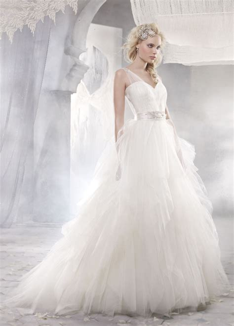 tulle wedding dress alvina valenta 2012 bridal collection dress of the week