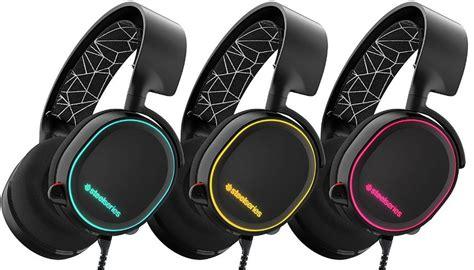 Headset Steelseries Arctis 5 Rgb Black Like New Murmer steelseries arctis 5 gaming headset review techy