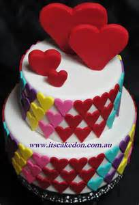 herz kuchen it s caked on hearts cake