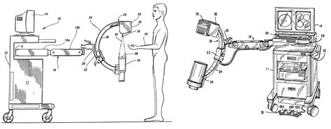 c arm diagram patent us6234672 miniature c arm apparatus with c arm