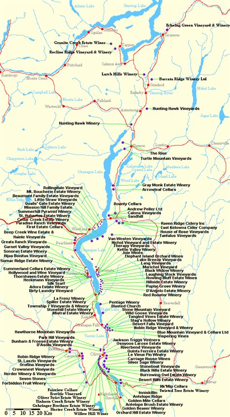 printable map kelowna okanagan valley map pictures to pin on pinterest pinsdaddy