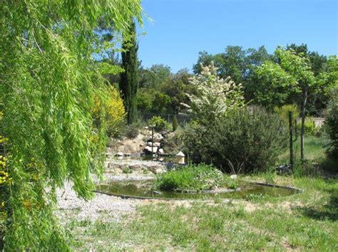 jardin cologique et bassin aquatique