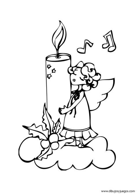dibujos de navidad para colorear de velas velas para colorear primera comunion imagui