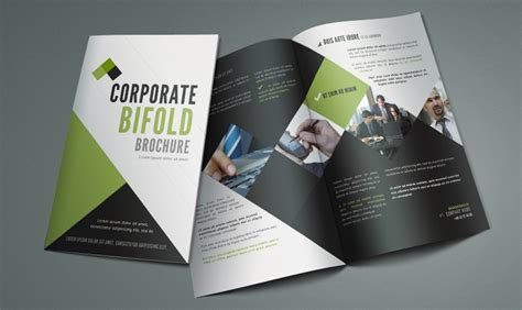 bi fold brochure design templates free bi fold brochure template by pixeden on deviantart